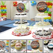 Cars Cupcakes on Tiers for Wilson & Wilbert